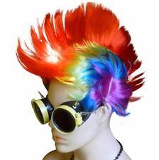 Steampunk goggles LED light Mohawk RAVE club DJ party Diesel Cyber Punk