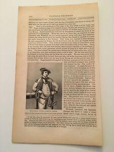 K43-Israel-Putnam-In-British-Uniform-American-Revolution-1860-Engraving