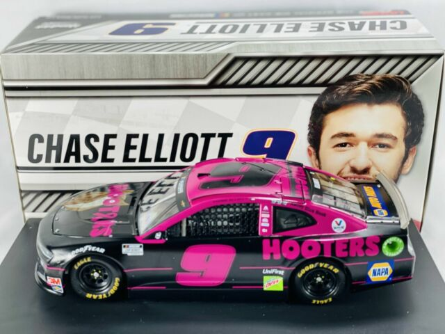 2020 CHASE ELLIOTT #9 HOOTERS GIVE A HOOT 1/24 DIECAST NEW FREE SHIP