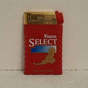 Details about Winston Select Slim Promotional Lighter - NIP - Child Proof -  NEW