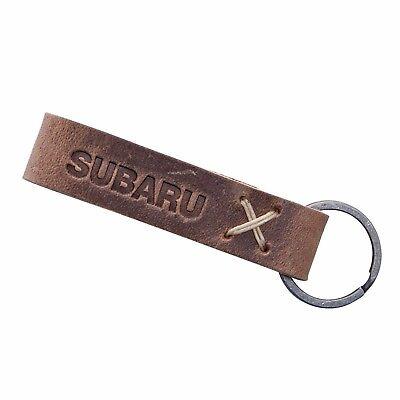Official Subaru Logo Baily Key Tag Keyring Key Chain Genuine Wrx Sti Impreza JDM