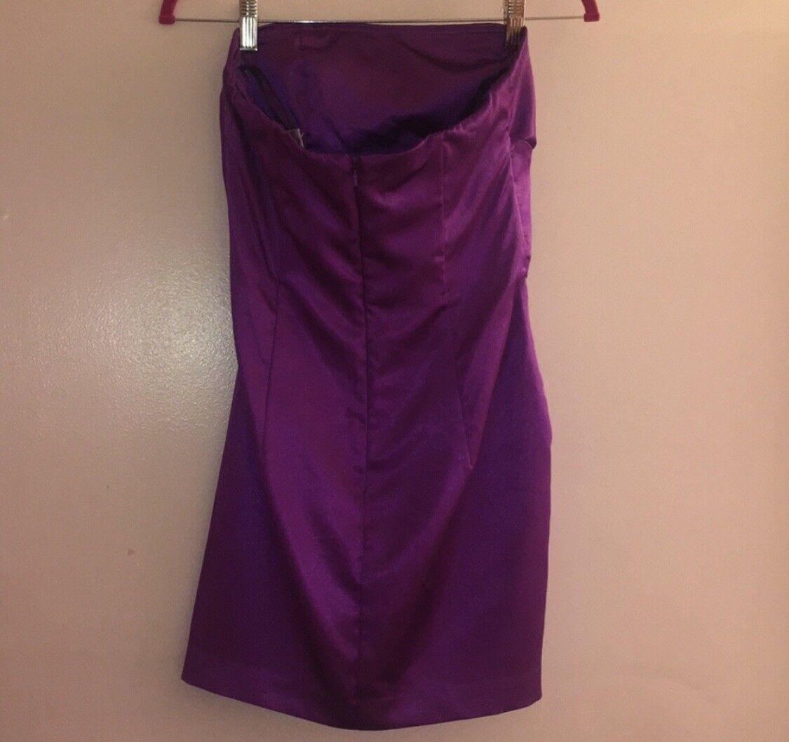 Jessica McClintock bridal purple dress size 8 Wom… - image 3