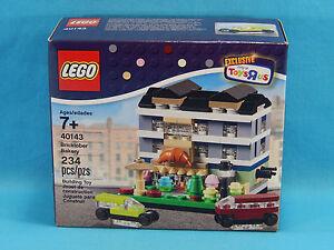 Lego 40143 Bricktober Bakery 2015 Toys R Us Exclusive 234pcs Set 3 of 4