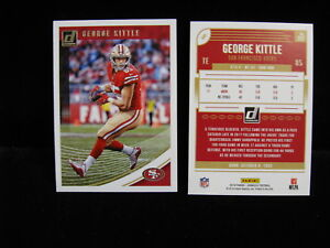 2018-George-Kittle-49ers-Panini-Donruss-Card-252