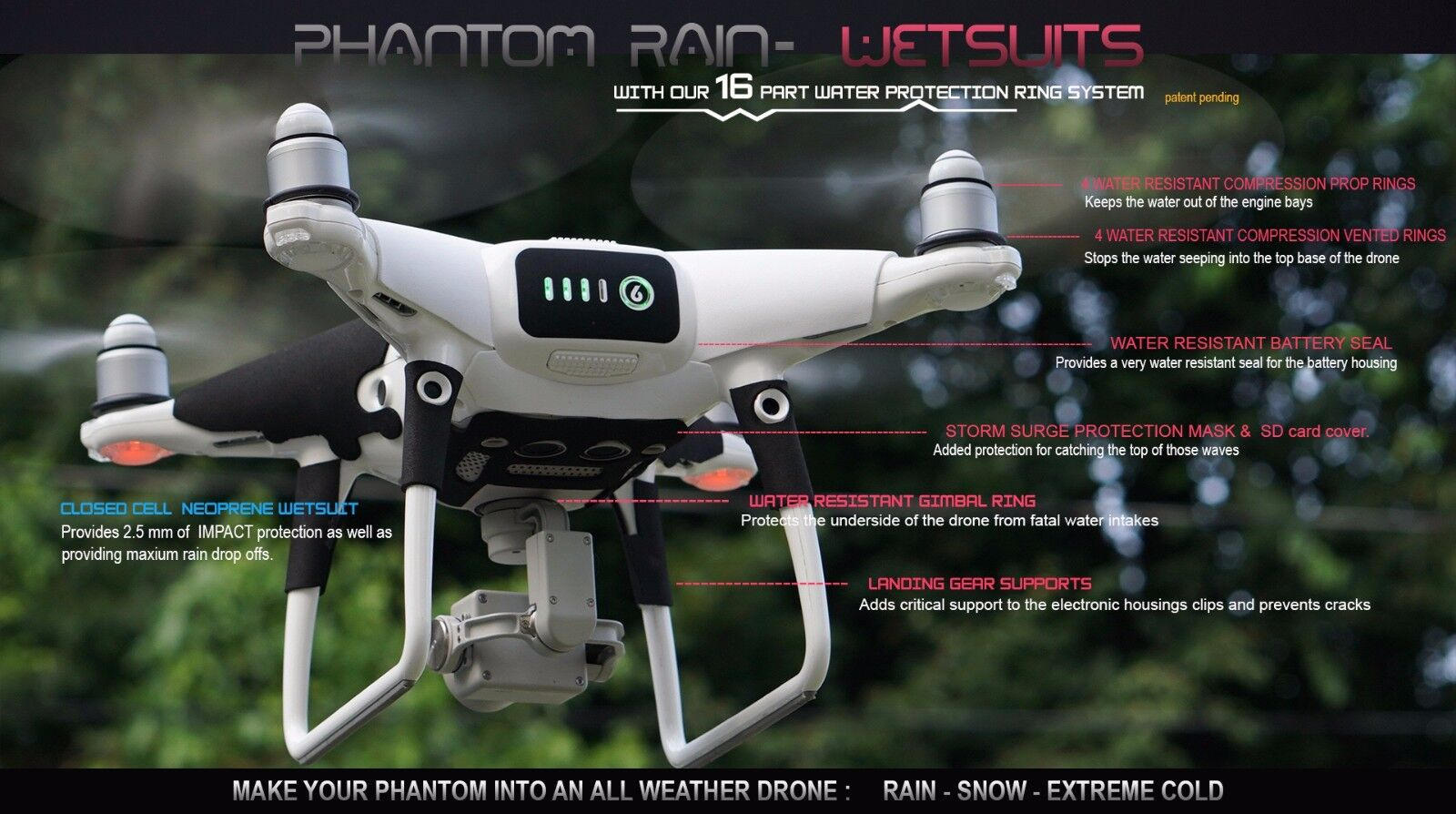 Phantom 4 Pro  Eclipse WRAP - 3M skin top shelf