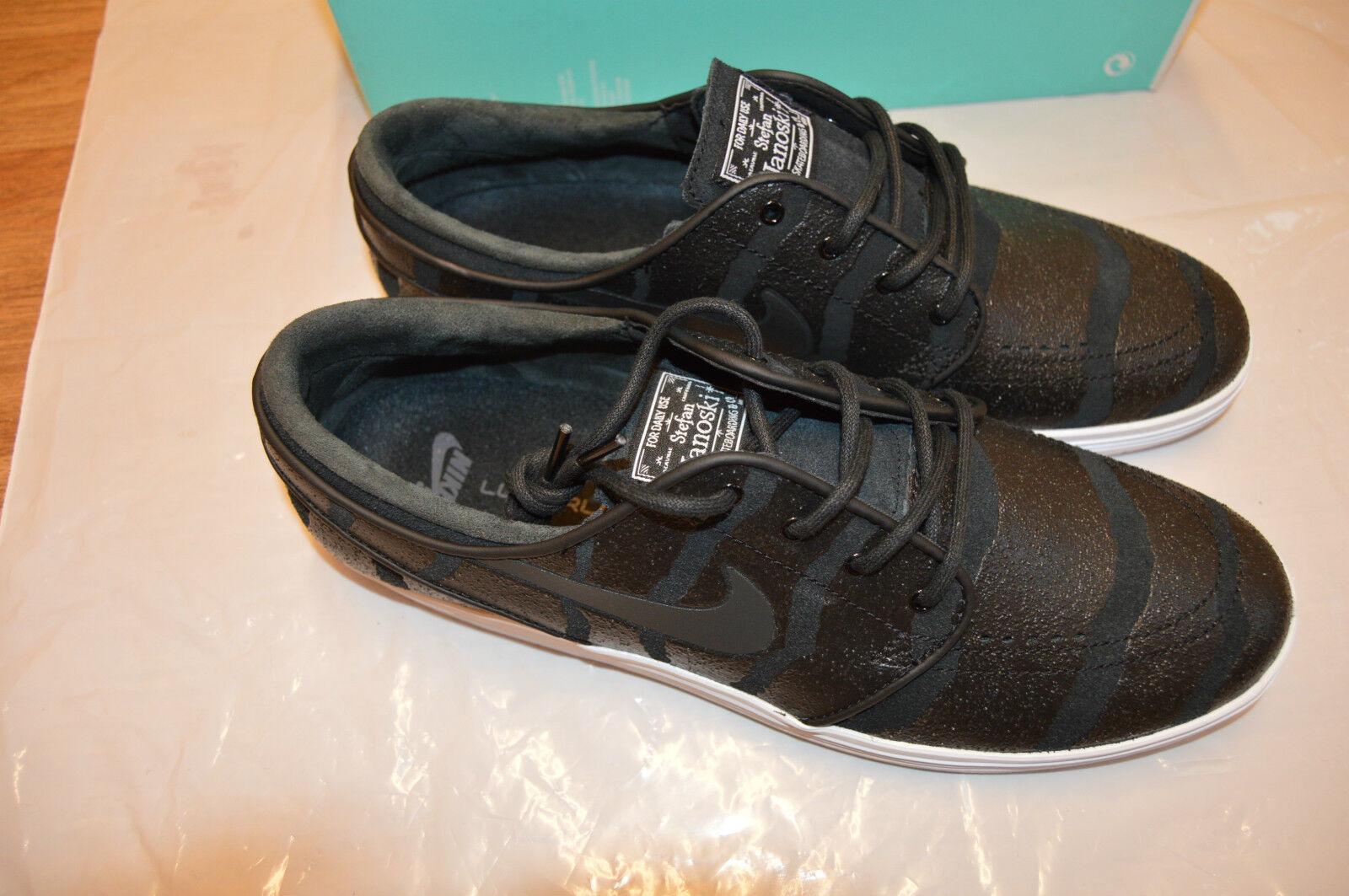 Nuevo Y En Caja Para Hombre Nike SB Zapatillas Lunar Stefan Janoski Negro/Blanco Zapatillas SB 3d79a5