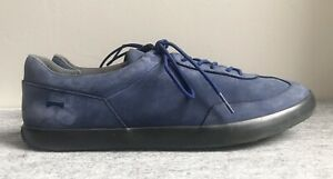 Camper-Sneakers-Shoes-Model-43402-18-Blue-Leather-Size-10D-43-EUR-VGC