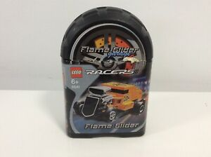 2005-LEGO-Monster-Crusher-Garage-Racers-Flame-Glider-8641-100-Complete