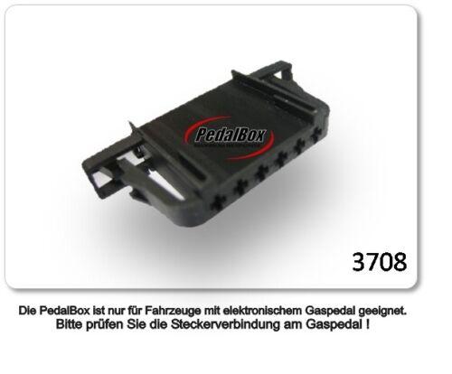 DTE PEDALBOX 3s per Skoda Fabia 55kw 04 2010-12 2014 1.6 TDI TUNING gaspedalbox