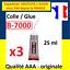 PROMO-Colle-glue-adhesif-B7000-pour-ecran-tablette-vitre-chassis-smartphone miniature 9
