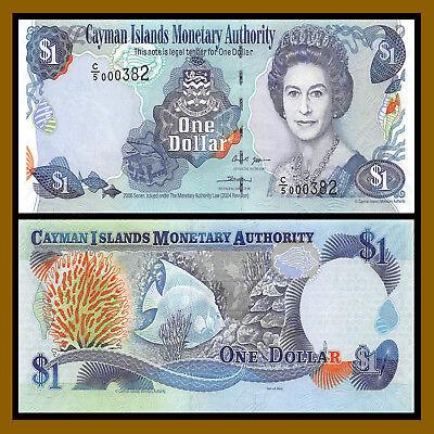 Cayman Islands banknote P 36a 25 Dollars serie 2006  QE II UNC   WE COMBINE