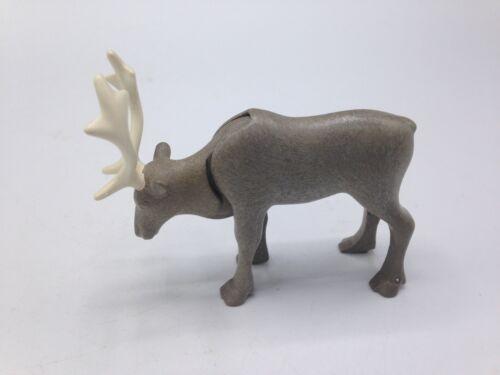 Playmobil Reindeer Elk Deer Buck Stag Antlers Forest Wilderness Animal Miniature