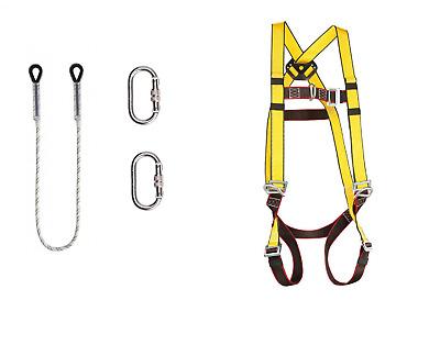 TOP Halteseil 2m DIN EN354 Fallschutz Absturzsicherung Höhensicherung Baumpflege
