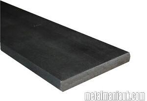 Mild steel black flat strip 40mm x 5mm x 500 mm