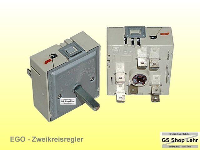 EGO Energieregler 5055021100 50.55021.100 zweikreis rechtsdrehend steigend