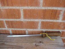 """Vintage 9"""" Steel * OLD HOMESTEAD * Knife Sharpening Steel Stick Sharpener JAPAN"""
