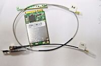 Hauppauge Mini Pcie Digital Tv Tuner Card T326n & Antenna Cables Dell