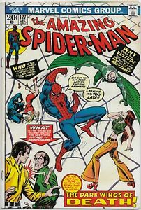 Amazing-Spider-man-127-Marvel-1973-VF-a-new-Vulture-1st-app