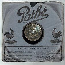 78T SAPHIR M. MILLER Eldorado Disque Phono POUR MES 20 SOUS Chanté PATHE 5014