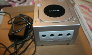 Nintendo Gamecube Console and Power Only TESTED WORKING  Platinum Silver DOL101