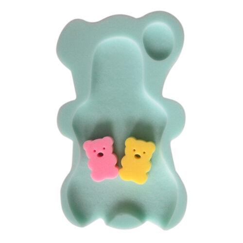 9 Colors Sponge Baby Bath Mat Sponge nfant Bath Pad Newborn Seat for Baby Care