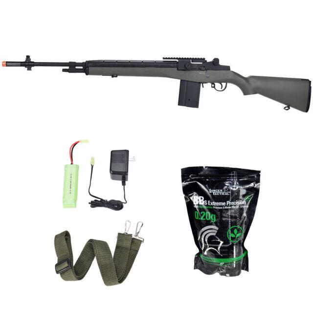Cyma M14 Socom CM032A Black Electric Rifle 400 FPS Metal Gear AEG Airsoft Gun
