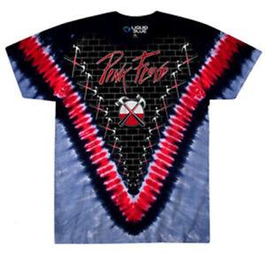 6c3bb79a Pink Floyd-The Wall-Hammers V Dye-Medium Black T-shirt | eBay