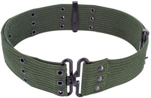 "Highlander Cotton Pistol Belt Webbing Belt 2/"" Army Military Waist Belt Canvas"