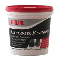 Rutland 98 Two 2 Pound Wood Stove Chimney Granular Creosote Remover Powder