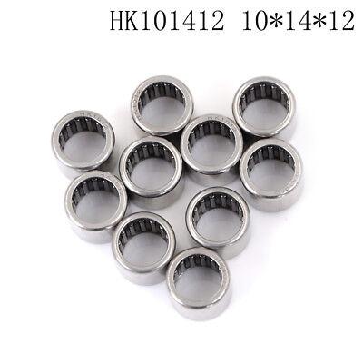 10pcs HK1012 10x14x12mm Double Way Needle Bearing TO