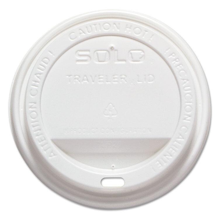 Dart Traveler Drink-Thru Lid blanc 1000 Carton TLP316