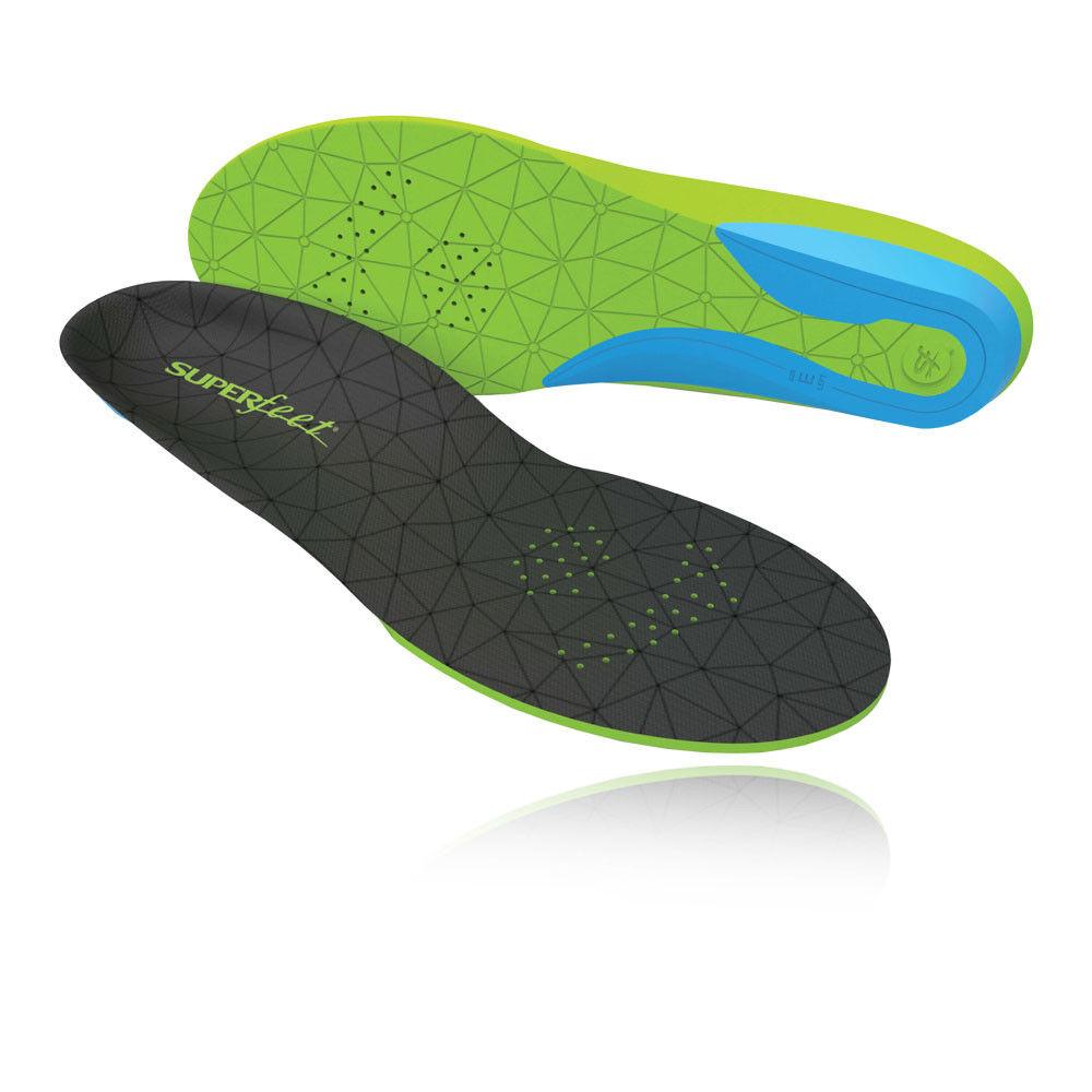 Superfötter Unisex FLEXmax Ergonomiska skor Insoles grön Sports Badminton