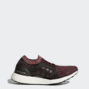 nib adidas frauen läuft ultraboost x schwarz / rätsel rubinrot