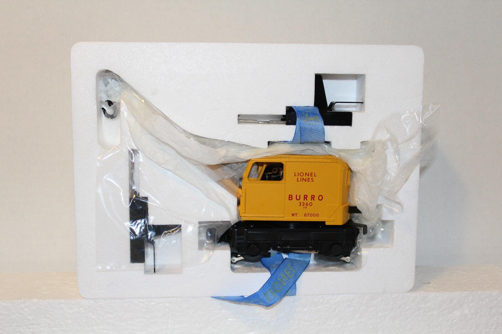 Lionel  28414 PwC  3360 Lionel líneas Burro Crane (remake)