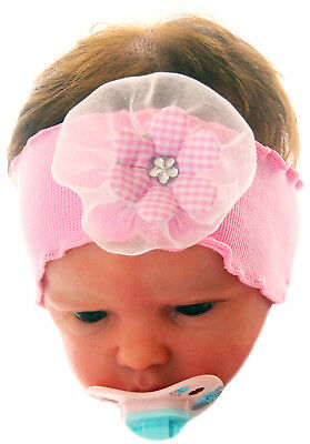 Baby & Toddler Clothing Charitable Baby Stirnband Ab 0 Mon 50 56 62 68 Neu Haarband Rosa Blume Kopfband 34-42cm Products Are Sold Without Limitations Clothing, Shoes & Accessories
