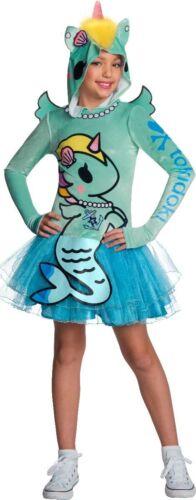 Kids Tokidoki Sirena Mermicorno Costume Child Size Medium 8-10