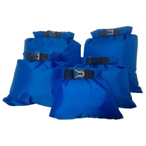 5PCS Wasserdichter Packsack Kanu Schwimmboot Wasserdicht Kajakfahren Camping Ski