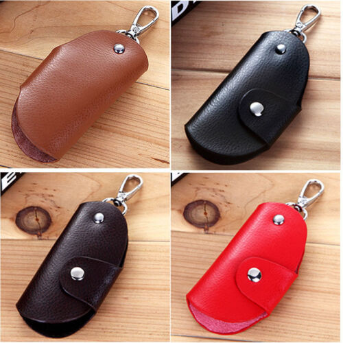 Men Leather Key Chain Accessory Pouch Bag Wallet Case Key Holder Father DAY