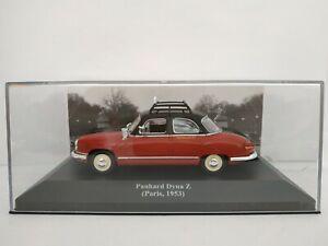 1-43-PANHARD-DYNA-Z-PARIS-1953-AUTOPLACE-G7-TAXI-IXO-METAL-CAR-ESCALA-DIECAST