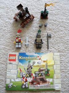 LEGO-Castle-Kingdoms-Rare-7950-Knight-039-s-Showdown-Complete-w-Inst