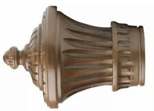 For 2 Pole Coffee Kirsch Wood Trends Classics Charleston Finial # 46802841