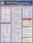 Russian Grammar Laminate Reference Chart 9781572226982 Poster