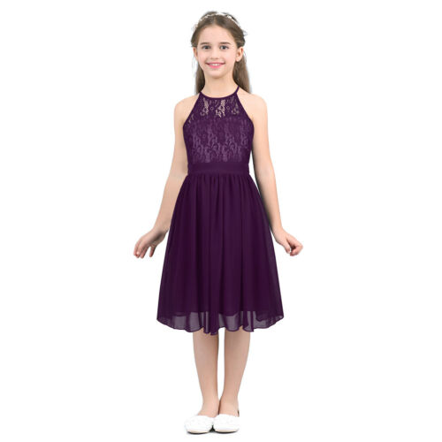 Blumenmädchen Prinzessin Spizte Kleider Kommunionkleid Abendkleid Partykleider