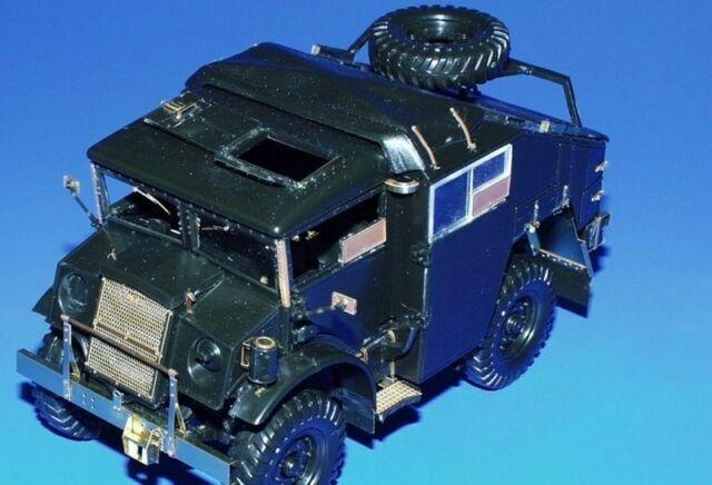 Ne Eduard Accessories 35458-1:35 Chevrolet Gun Tractor Fotoätzsatz Ätzsatz