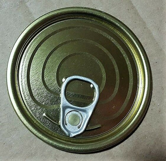 100 cans 73mm x 28mm Can with Ring-pull Lid. Lid. Lid. 29c52f
