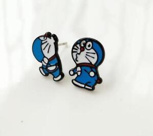 gift-doraemon-blue-cat-pout-fashion-earring-ear-stud-earrings-studs-anime