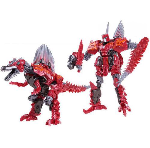 Scorn Grimlock Robots Transformers Swoop Slag Age of Extinction Action Figure