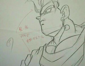 Original-Vegito-Dragon-Ball-Z-Cel-Buu-Saga-DBZ-Anime-Production-Cel-Pencil-Douga