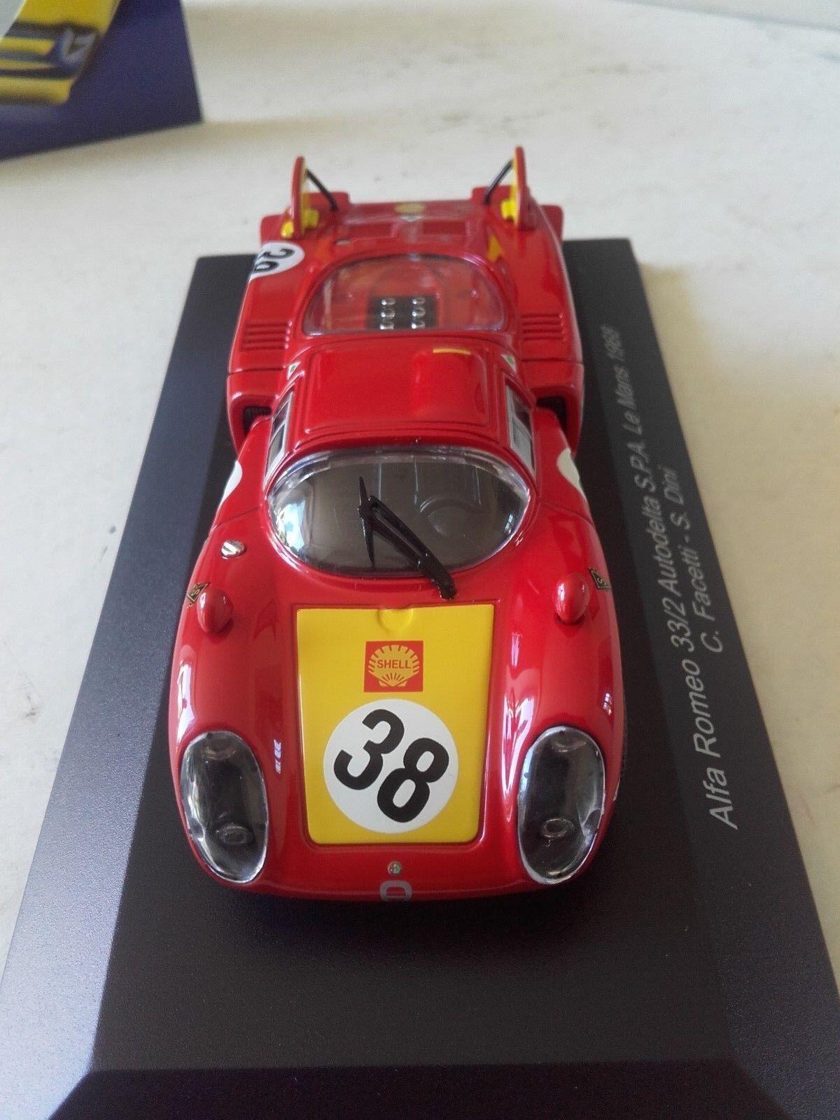 Alfa roméo roméo roméo 33 2 n38 le mans 1968  top model 5 eme 336ad5