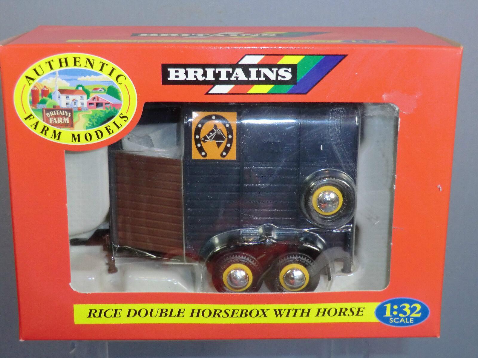 VINTAGE BRITAINS MODEL No.9562 HORSE BOX & HORSE        MIB